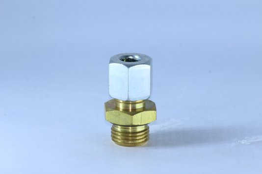 CONECTOR MACHO 8MM X M16 RGR