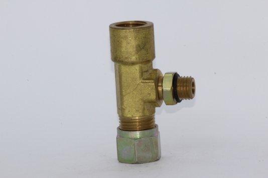 TEE TUBO MACHO/FÊMEA 12MM X M12 X M16