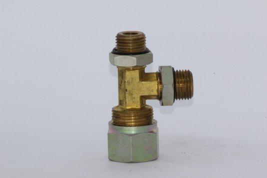 TEE TUBO MACHO/MACHO 16MM X M16 X M16 CONTEC
