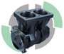 BLOCO DO COMPRESSOR DE AR DUPLO MBB WABCO